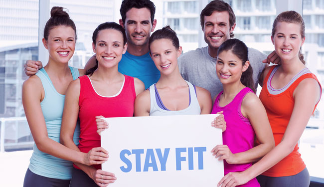 Stay Fit at Crown